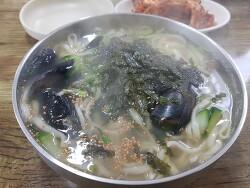 [제주맛집] 제주시 연동 - 모임터칼국수 (부제. 칼국수 맛집, 도민맛집, 숨은맛집)