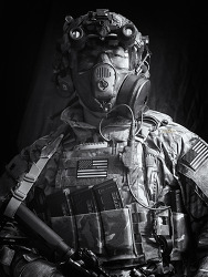 [75th RANGER] Avon ProtectionM53 Respirator.
