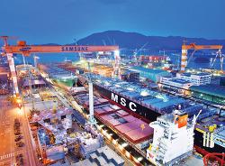 삼성중공업, 세계 최대 컨테이너선 6척 · 1조1000억원 수주