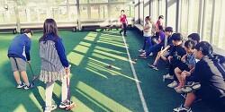 플레이&스포츠 게이트볼 홍천송정지역아동센터 수업