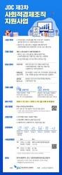 """*한국사회투자-JDC, 임팩트금융 CSR 사업 본격화… """"사회혁신조직 10개팀 모집"""""""