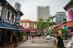 싱가포르 아랍 스트리트에서  다양한 현지 음식을 저렴하게 즐길 수 있는 추천  맛집  Kampong Glam Cafe 깜퐁  글램 까페 [싱가폴 추천 맛집]