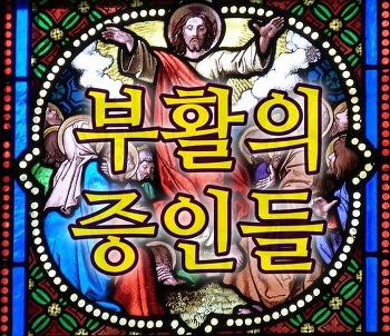 부활의 증인들 2) 예루살렘의 제자들(눅 24:36-49, 요 20:19-23)