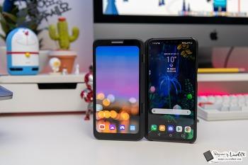 LG V50 첫인상, 듀얼 스크린 어때?