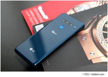 LG G8 ThinQ 동영상 아웃포커스 멋져! G8  카메라 후기