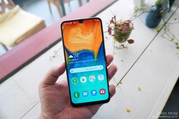 갤럭시 A30은 진정한 가성비 좋은 스마트폰! 갤럭시 A30 가격도 매력적!