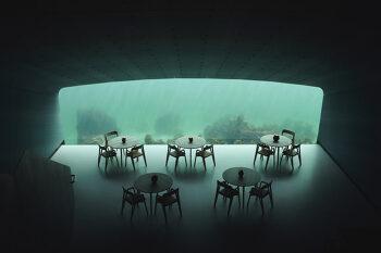 유럽 최초의 해저 레스토랑 Under
