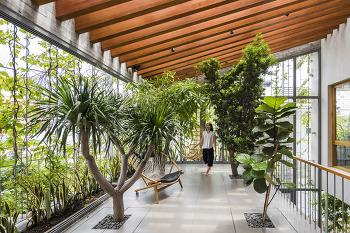 VTN Architects의 새로운 그린 하우스