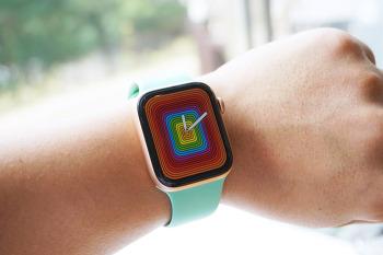 watchOS 5.2.1 변화 애플워치 프라이드 페이스 3가지 적용해 봤어요