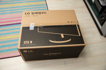 LG 일체형 PC 27V790 간단 개봉기