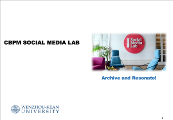 Social Media Lab in The College of Business