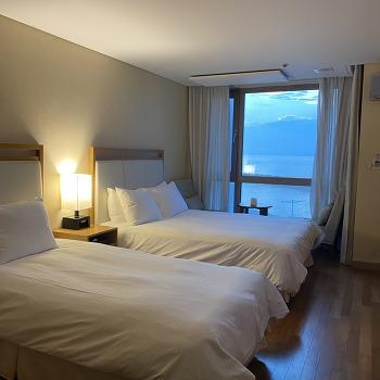투박한 매력이 있는 제주 오션스위츠 호텔