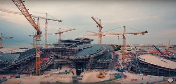 사막 속에 피어난 한송이의 장미. 이건창호와 현대건설이 함께한 카타르 국립 박물관