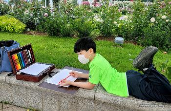 제1회 에버로즈 어린이 그림대회에 참가하다~!