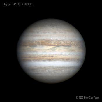Jupiter 목성 2020-08-18