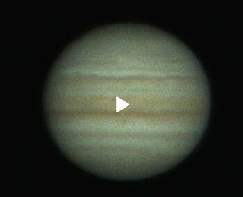 (Video) Jupiter  (동영상) 목성  2021-08-03 UT