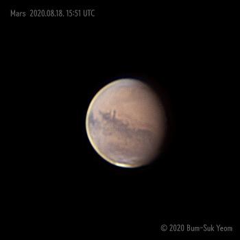 Mars. 화성. 2020-08-18