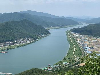 [양산여행] 강이 만든 한반도 지형 양산 오봉산