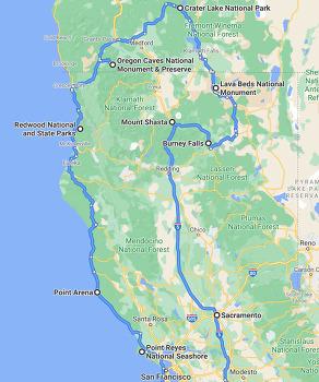 화산과 폭포, 레드우드와 바다를 만나는 북부 캘리포니아(Northern California, NoCal) 7박8일 여행