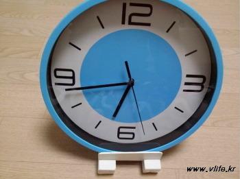 탁상 시계 받침대 만들기, 굴러다니는 나무 조각 재활용