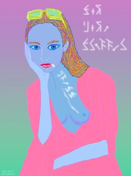 [Drawing] Sasha Luss (사샤 루스)