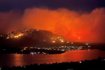 캐나다 서부 산불 300곳 확산…BC주 비상사태 선포