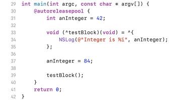 [번역글] Objectiv-C 블록(block)으로 작업하기(2)