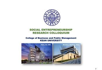 International Social Entrepreneurship Research Colloquium (KUSA-WKU)