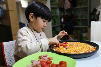 할머니하고 피자 만들기(Jun)/20210226
