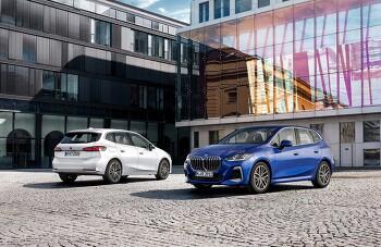 2022 BMW 신형 2시리즈 액티브 투어러(U06) 공개 - 더 커진 그릴, 신규 편의 사양 추가