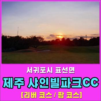 [제주도골프] 샤인빌파크CC 라운딩 후기 - 리버코스 / 팜코스 -