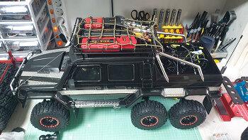 TRX6 액세서리 장착 (짐 싣기 ㅋ~)