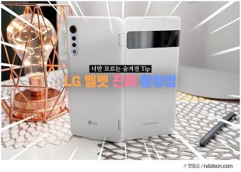 LG 벨벳 듀얼스크린과 스타일러 펜 활용법