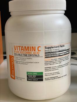 COVID19 코로나19 이겨내는 면역 비타민 Vitamin C 소개