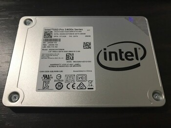 시놀로지 ds412+ 에 사용하기 위해 구매한 ssd, 인텔 SSD Pro 5400s Series 256GB