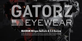 [Goggle] Gatorz Magnum Ballistic & Magnum 2.0 & Gasket Review.