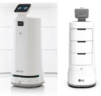 <미래 기술> 승강기 타는 로봇 'LG 클로이 서브봇'