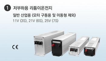 (1)리튬전지(저부하용
