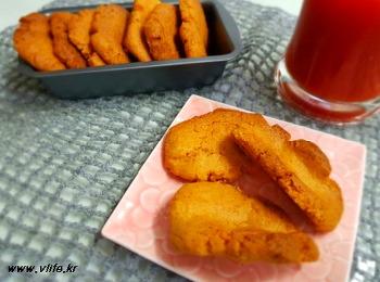 치킨 소스 모아 수제비 쿠키 만들기
