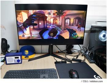 게임유저를 위한 로지텍 게이밍 마우스 G502 무선 & 무한충전 되는 로지텍 파워플레이 조합