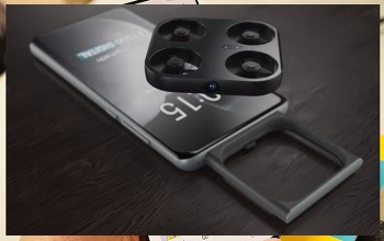 미니 드론 탑재한 스마트폰 Vivo!! 탈착식 카메라 역할로 기대되는 최신 스마트폰 출시는 언제!!