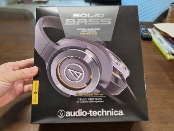 오디오테크니카 헤드폰 ATH-WS770iS 좋네요