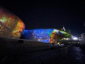 동대문 DDP 미디어아트 서울라이트 (Seoul Light)