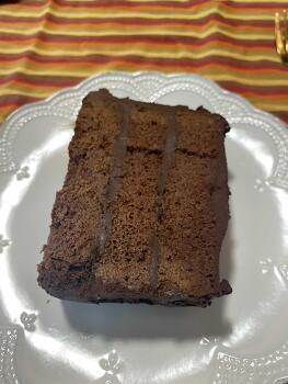 데블스푸드 케이크