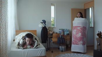 실내온도 낮은 일본 주택 추위를 잘 표현한 광고