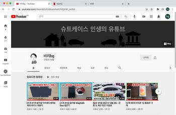 """유튜브 운영  - """"비지bg"""""""