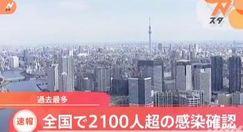 11월18일 일본 감염자 2201명 실화냐?