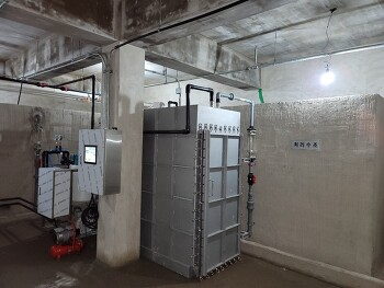 RTA 밀폐형 중수도시설 현장설치 사진(1)
