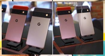 구글 픽셀6의 달라진 디자인 살짝 관심!! 구글 픽셀6 프로의 카메라와 스펙 비교해 보면
