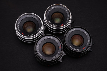 CONTAX G Planar T* 35mm F2 Lens conversion Kit assembly & CLA